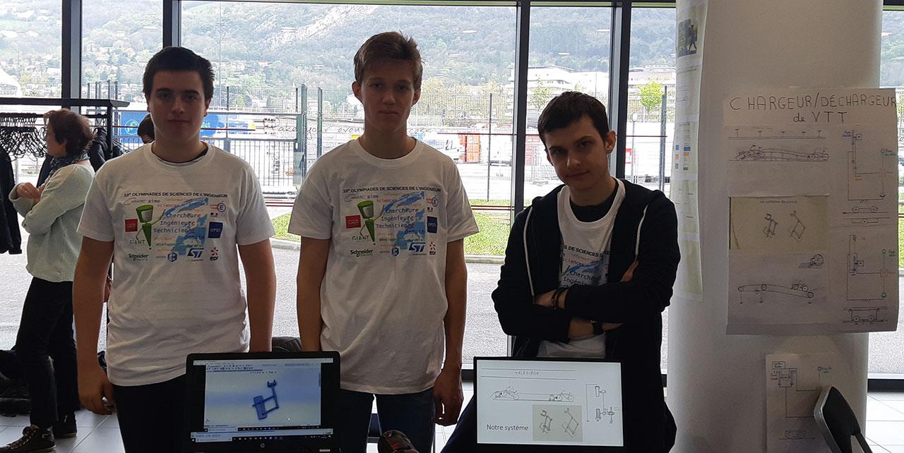 Grenoble INP - Phelma - Olympiades de Scinces de l'ingénieur 2019