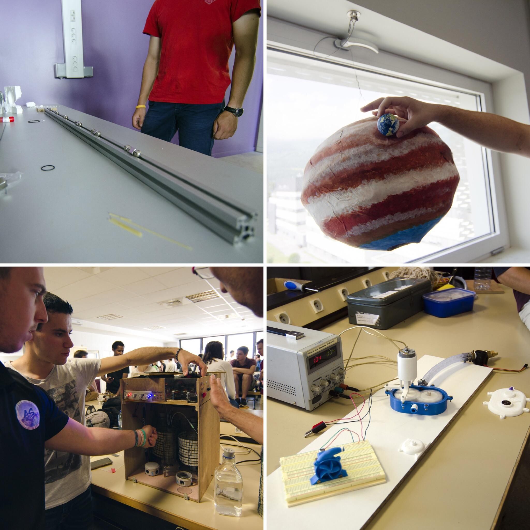 Grenoble INP - Phelma - Projets de groupes étudiants 1