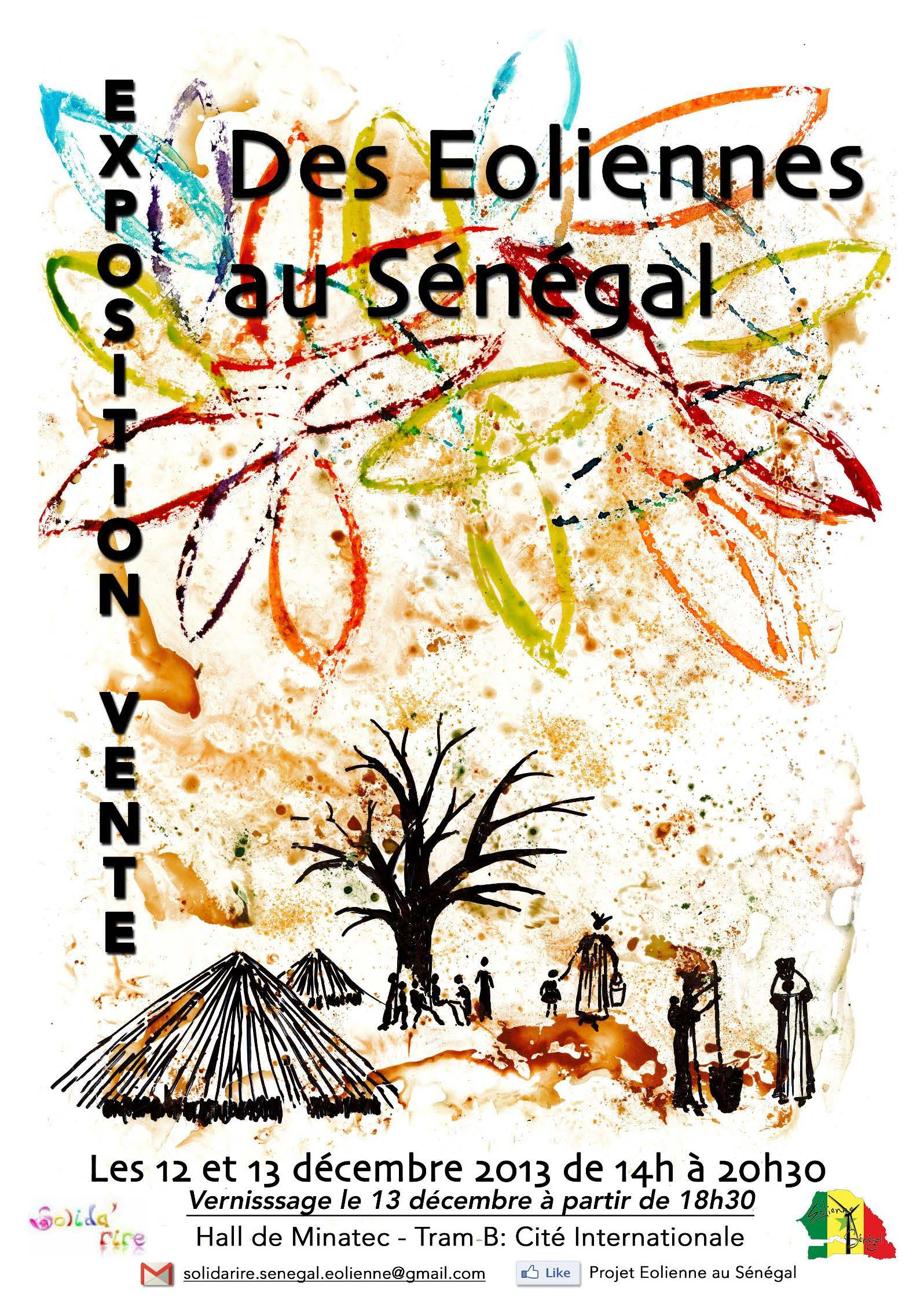 """Exposition """"des éoliennes au Sénégal"""""""