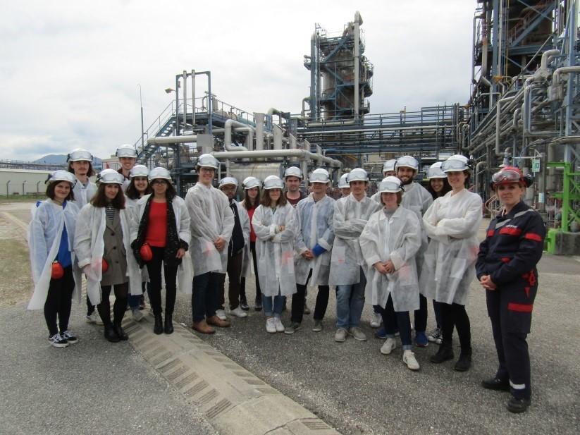 Grenoble INP - Phelma > visite ARKEMA - 2019