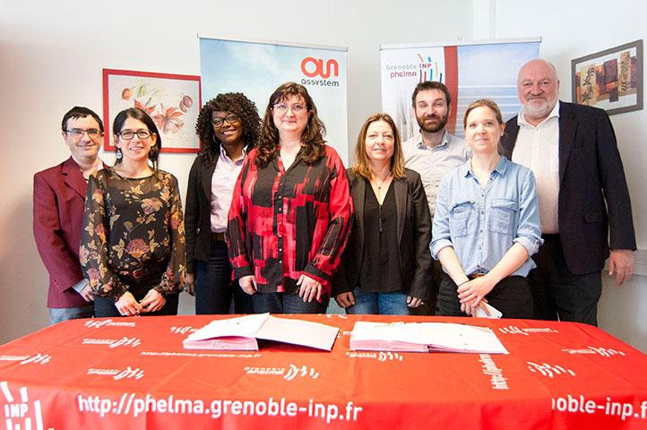Grenoble INP - Phelma > partenariat ASSYSTEM - 2019