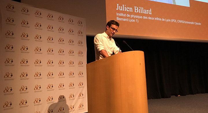 Julien, diplômé Phelma reçoit la médaille de bronze du CNRS !