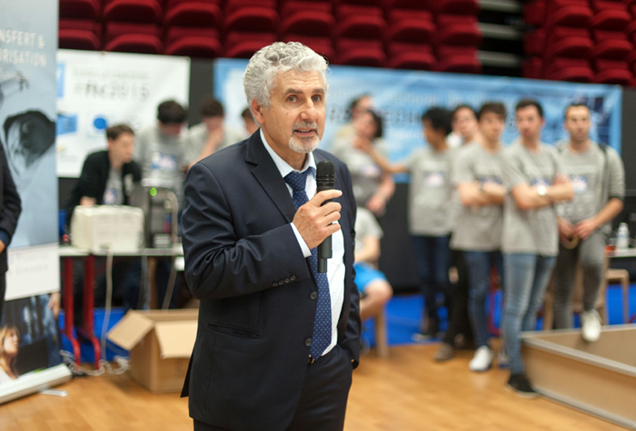 First Tech Challenge 2015 - Fondation Grenoble INP - Louis Zangara