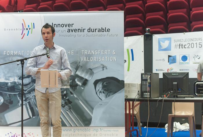 Allocution de Brice Di Gennaro pour l'ouverture du FIRST Tech Challenge 2015