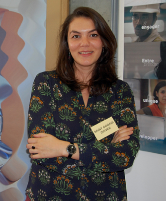 Grenoble INP - Phelma : Leslie GENIEYS Saint Gobain ISOVER