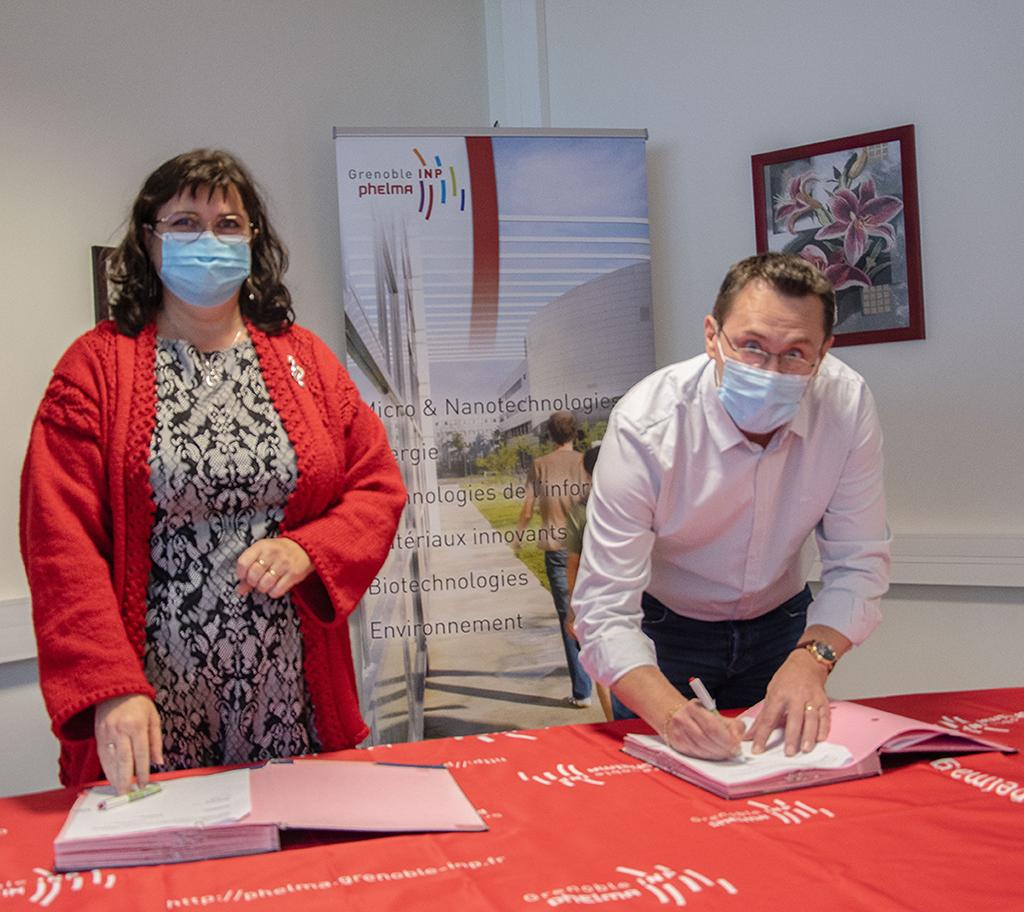 Grenoble INP - Phelma / EASii IC / partenariat industriel 1