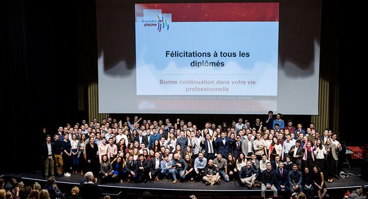 Remise des diplômes 2019 de Grenoble INP-Phelma