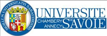 Logo Université de Savoie