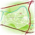 Plan d'accès Phelma sur le campus