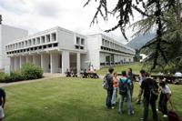 Le bâtiment de Phelma sur le campus