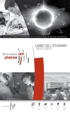 Grenoble INP - Phelma - Livret de l'étudiant - 2012 - web