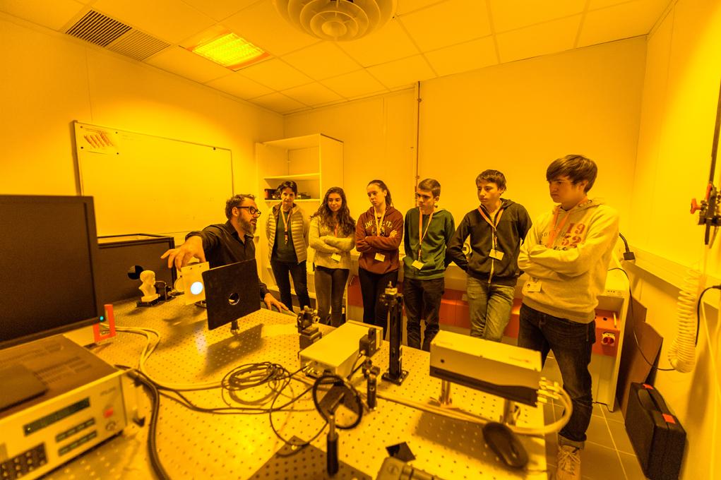 Inn.0 Tech 2017 > atelier Grenoble INP > Hologramme à l'IMEP LaHC