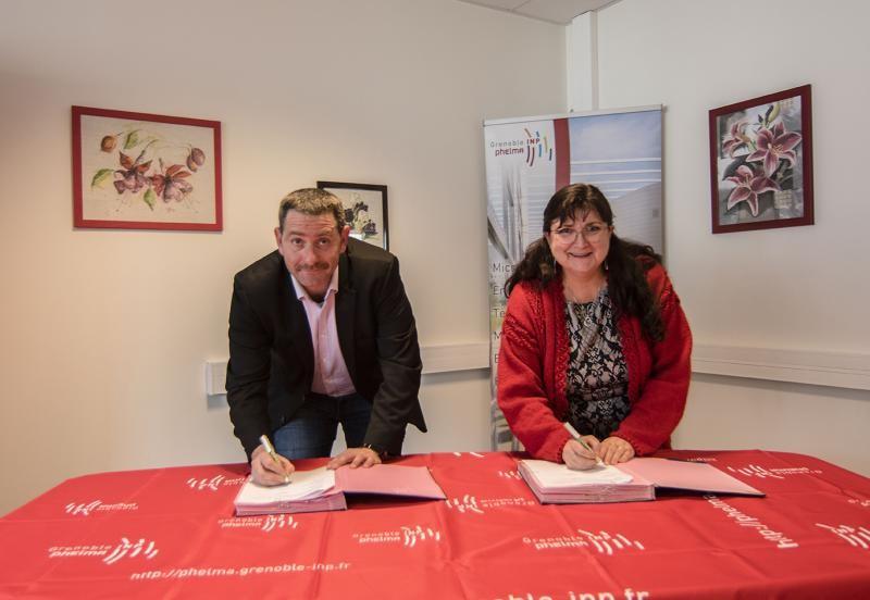 Grenoble INP - Phelma > partenariat LYNRED - 2019