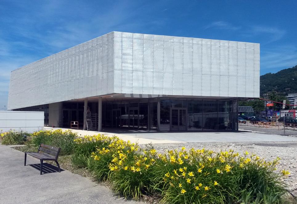 Auditorium Grenoble INP : lieu de la rentrée des premières année Phelma, le lundi 7 septembre 2015