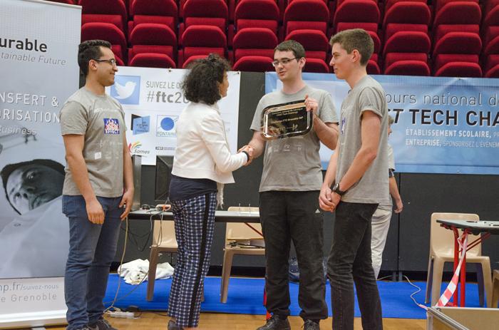 Le Challenge Grenoble INP 2015 est remporté par l'Esisar