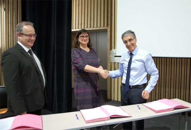 Phelma NXP signature convention partenariat 2017