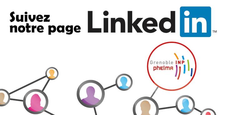 Suivez Grenoble INP - Phelma sur LinkedIn