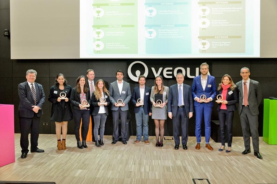 Trophées Performance 2017 Veolia - camille barenne