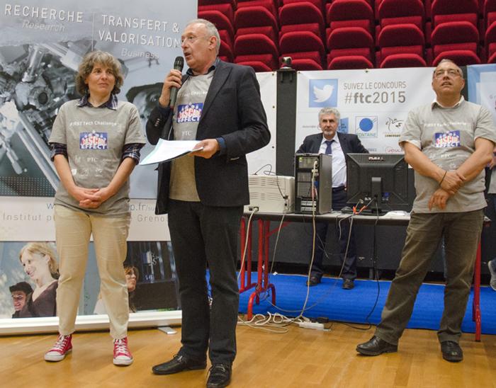 First Tech Challenge 2015 JP Trovero Maire de Fontaine