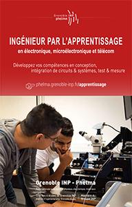 Grenoble INP - Phelma > Plaquette filière Microélectronique & Télécommunications